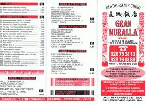 Gran Muralla - Chinesisches Restaurant auf Gran Canaria