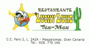 Lucky Luke - mexikanisches Restaurant in Maspalomas
